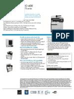 Pro 400 M475 Datasheet