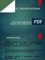APRENDIZAJE ORGANIZACIONAL BUENO.ppt