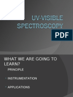 Uv Visible Spectroscopy