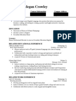 student teaching resume copy