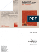 El proceso de maduración en el niño [Donald Winnicott].pdf