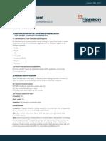 Safety Data Sheet Hanson Portland Cement 0 0