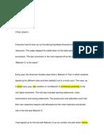 education essay draft 3