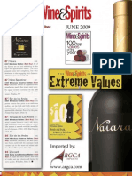 Junho 2009 - Wine & Spirits (EUA)