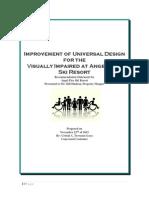 universal design report