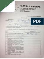 Declarație de Avere Vulpe Vasile PL