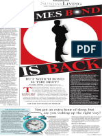 Sunday Living, Best Bond movies - The Patriot-News, Harrisburg, Pa. - Nov. 1, 2015