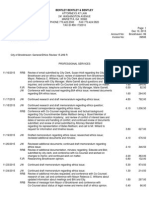 Independent Counsel Invoice BIA City of Brookhaven Invoice 39595