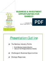 Business and Investment Opportunities for Bamboo