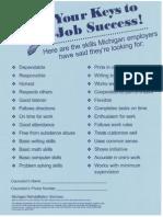 your keys to job success-mrs