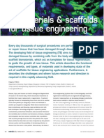 Biomaterials & Scaffolds for Tissue Engineering