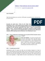Paulo César Pinheiro [ENTREVISTA]