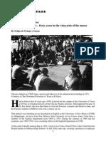 By Felipe de Ortego y Gasca  - MEMOIR BLOWOUT AT UT EL PASO NEWSPAPER TREE.pdf