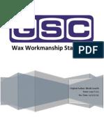 wax standard workmanship 12-9-15