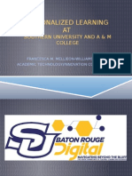 DELC Higher Ed 15 - Personalized Learning - Francesca Mellieon-Williams