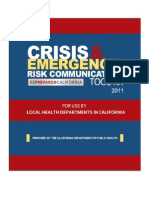 Crisis and Emergency Risk Communication Toolkit July 2011