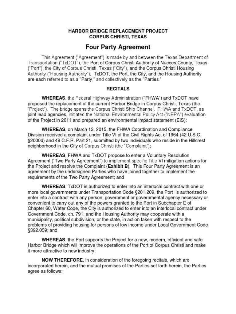 Harbor bridge replacement agreement national environmental harbor bridge replacement agreement national environmental policy act ownership xflitez Gallery