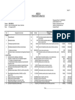 ANP - 2º Calzada - Analisis de Precios