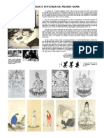 10 Cartaz Caligrafias Pinturas