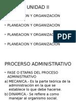 Unidad II Induccion Admon. y Economia.