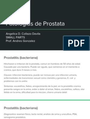 chlamydia della prostata sintomi