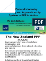 New Zealand's Industry Training and Apprenticeship System