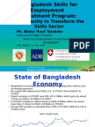 Bangladesh Skills for Employment  Investment Program