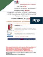 [FREE]Braindump2go Latest 70-516 PDF 100% Pass Guaranteed 41-50