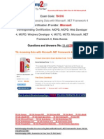 [FREE]http://events.e-med.co.il/?exam=70-494-dumps&collection= Latest 70-516 VCE Guarantee 100% Pass 31-40