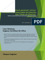 Refreshing Sertifikasi MS Office.ppt