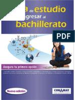 Guia Estudio Bachillerato ConGUIA ESTUDIO BACHILLERATO CONAMATamat