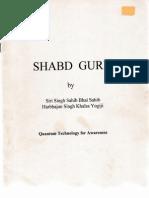 Shabd Guru Quantum Technology for Awareness
