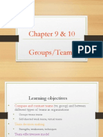 Lecture 5 (Chapter 9 & 10 Teams) - Student