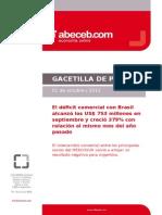 Abeceb - Gacetilla Comercio Con Brasil Septiembre_2013
