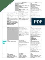 winter 2016 schedule grid