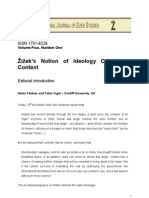 Slavoj Zizek and Ideology