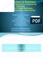 Introduction to Business (Chapter 4 & 5)