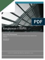 Rangkuman UTS PHI (Pengantar Hukum Indonesia)