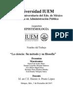 Caso de Epistemologia Mario Bunge La Ciencia Su Metodo y Su Filosofia