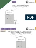 06f Ejercicios Teorema de Bernoulli