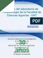 Aportes Del Laboratorio de Fitopatologia UNT