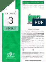 IMO-2014 CLASS 3-LEVEL 2 pdf | Test (Assessment) | Mathematics
