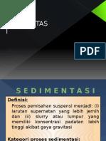 Sedimentsi