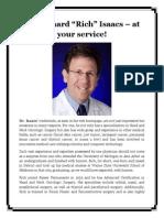 "Dr. Richard ""Rich"" Isaacs – at Your Service!"