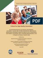 Criteria for High Quality Assessment June 2013 (1)