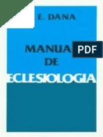Ministerios de Predicación y Enseñanza Manual de Eclesiología