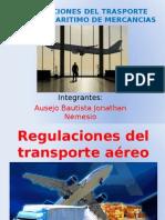 Regulaciones Del Trasporte Aereo y Maritimo de Mercancias