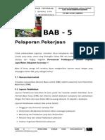Bab-5 Pelaporan Pekerjaan