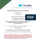 Informacion Telmex