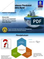 Population Distribution Sumatera Barat 2010